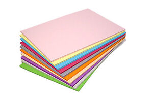 A4 Coloured Paper 80gsm Craft Paper Packs Printer / Copier Paper or 160gsm Card