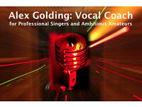 Singing Lessons / Vocal Coach for Professional Singers & Ambitious Amateurs CHELSEA FULHAM SW3 SW10