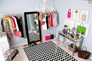 Designer Clothing Garage Sale