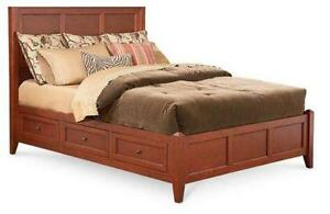 california king storage beds