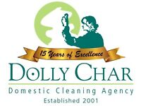Dolly Char Professional Domestic Cleaning company 16 Years Service