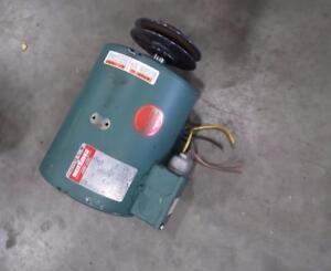 Leeson 5hp Industrial Electric Motor