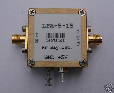70-5500mhz Wideband Rf Amplifier Lpa-5-15 New Sma