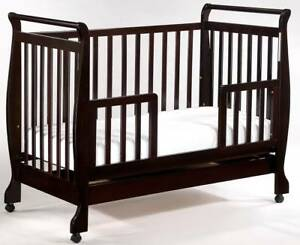 Brand New 3in1 Wooden Baby Cot Crib Toddler Bed Spring Mattress