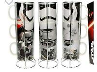 Star Wars Force Awakens Stacking Mugs
