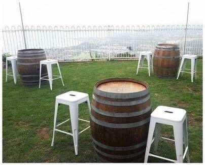 FOR HIRE: Wine Barrels