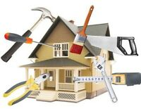 A helping hand construction property maintenance