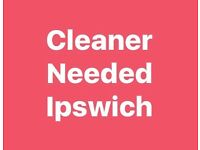 Cleaner Required in Ipswich
