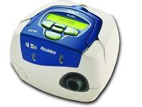 sleep apnea restart breathing with short term air Pressure (Richmond)