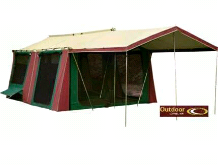 Canvas large family tent
