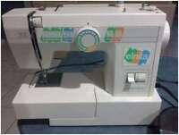 ELNITA 200 sewing machine, proper metal frame