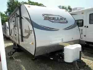 RV Rental 2013 Bullet 23 foot Travel Trailer with full slide out