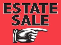 Estate Sale August 16. 10 AM-4PM