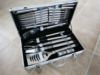 Stainless Steel Barbecue Tool Set