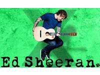 2 x Wednesday~ Stage Front Standing ~ Ed Sheeran Tickets