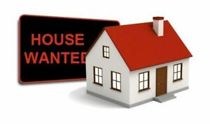 Wanted - 1 or 2 bedroom house/apt NEEDED BY JUNE 1st