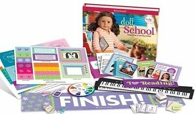 American Girl Doll School : Learn & Play -- Book and Craft Set  American Girl Doll Crafts