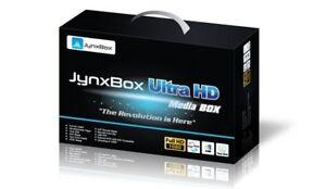 JYNXBOX Ultra HD V10 USED FTA Sat-TV Receiver wth JB200