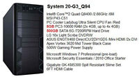 Newer Quad Core Mid-Range Gaming Tower /8G DDR3 /GTX460 /500G