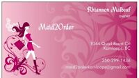 Maid2Order moving service