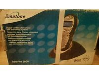 Binatone digital cordless telephone with answer machine