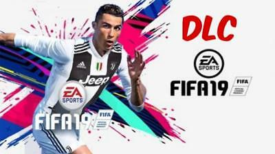 DLC FINO A 5 PACCHETTI ORO MAXI+CR7 PER 7 PARTITE+SKIN+DIVISE PER FIFA 19 PS4!!!