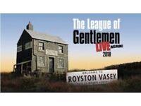 X2 tickets The League of Gentleman tour