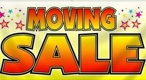 Online Moving Sale!
