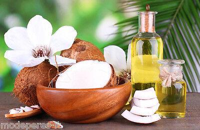 Olio di Cocco Raffinato 1kg - Puro al 100% -USO ALIMENTARE E OTTIMO PER IL CORPO
