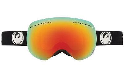 Dragon Alliance Advanced Project X Ski Goggles APX Coal/Red Ionized NEW