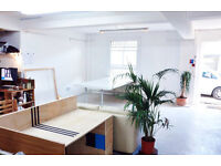 Desk Space In Mixed Creative Studio in Dalston / Stoke Newington £195 PCM