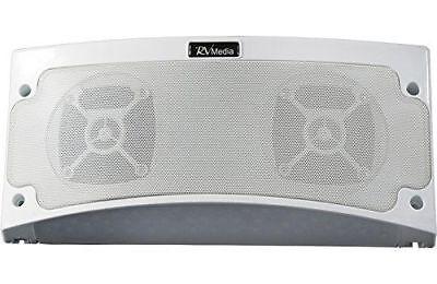 KING RVM2000 Premium Bluetooth Outdoor Speaker White RV Motor Home 5th Wheel