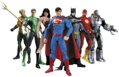 Model:DC Comic Justice League:Justice League/Dragonball Z/The Avengers/FNAF/Sonic The Hedgehog Action Figures