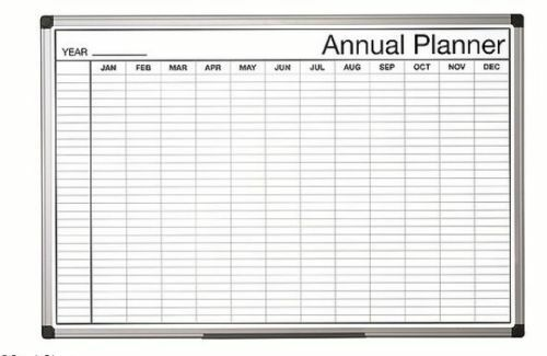 whiteboard board wall study planner yearly student weekly monthly