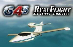 RealFlight G4 5 FLIGHT SIMULATOR computer game with controller Code