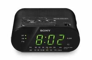 Sony ICF-C218 Automatic Time Set Clock Radio (Black)
