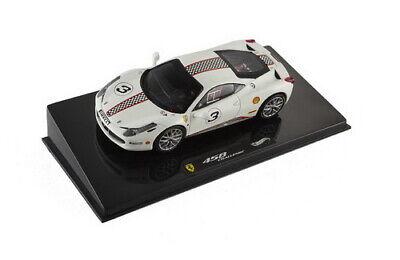 1:43 Ferrari 458 n°3 Challenge 2010 1/43 • HOT WHEELS X5505
