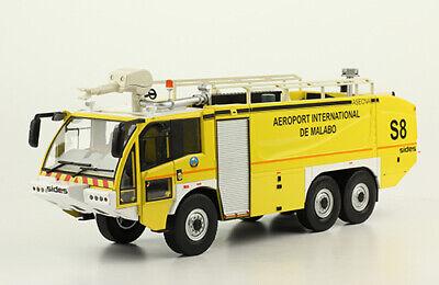 "Fire Truck SIDES S3X ""AEROPORT INTERNATIONAL DE MALABO"" 1/43 diecast model"