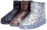 Sequin Boots