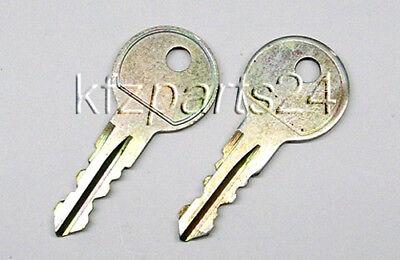 ATERA Ersatzschlüssel 2 Stück für Atera Strada Heckträger ...