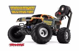 TRAXXUS RC Monster Truck ( Used )