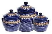 Polish Pottery Canister
