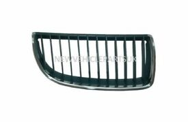 BMW 3 E90 E91 SALOON & ESTATE 2005>2008 DRIVER SIDE KIDNEY GRILLE BLACK & CHROME NEW FREE DELIVERY