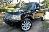 2007 RANGE ROVER SUPERCHARGED / FULL SIZE / DUAL DVD  / MINT CON