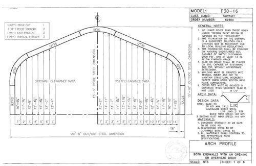 Steel building ebay for Steel building plans drawings
