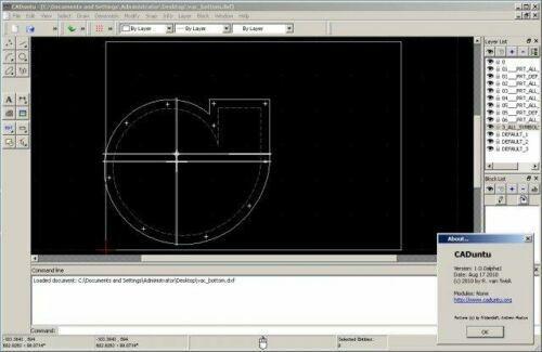 LibreCAD 2020 (Professional 2D CAD Software) Windows and Mac on USB Flash Drive