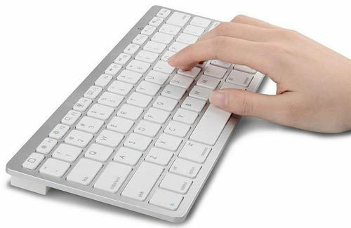 wireless bluetooth keyboard for ipad imac iphone