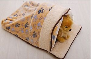 Cat or Small Dog Sleeping Bag with Curtain - BRAND NEW