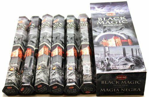 Hem Incense Sticks Black Magic Bulk 120 Stick for Cleansing Spiritual Blessings