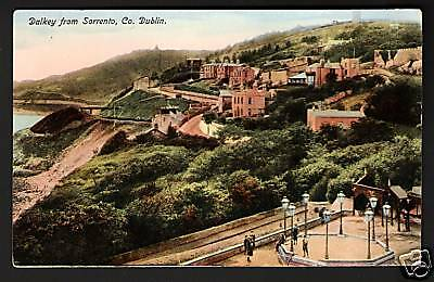 Dalkey from Sorrento,Co.Dublin published by Chas L Reis